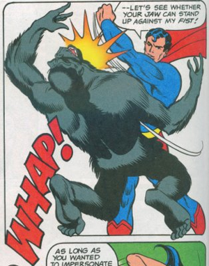 Punch the Gorilla: Makes you as cool as Superman!