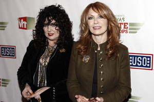 Little known Heart fact #46: Ann and Nancy Wilson are the only human members of Heart. The remainder of the band consists of animatronic beavers.