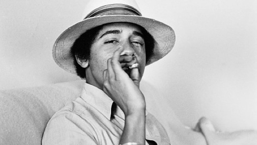 Yo, Barry! Don't bogart that joint!