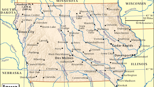 Iowa: Penis cancer capital of the world.