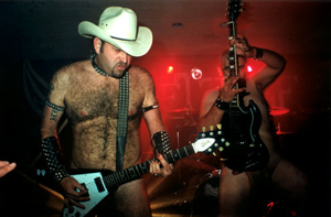 Nudist Priest, a Judas Priest tribute act that plays in the MOTHERFUCKIN' NUDE BABY!