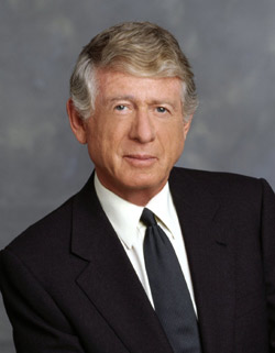 * For those of you too young to remember Ted Koppel, or indeed, the whole concept of watching news on TV, Ted Koppel was the host of Nightline, a show which tackled serious issues of the day. He ended each show by showing the panelists his sack.