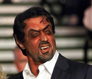"In what has to be the oddest thing I've ever encountered when searching for images via Google, if you search for the term ""wise guy"", somehow Sylvester Stallone is in the results. WTF?"