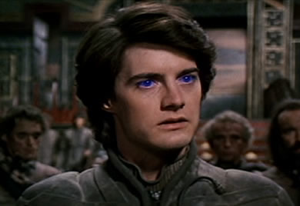 I felt like Paul Atreides, only my eyes were yellow. (Dune humor: Appreciated by dozens of people worldwide.)