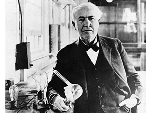 "Thomas ""Light Bulbs"" Edison: American inventor, asshole"