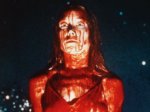 Sissy Spacek enjoying a good old fashioned blood fight.