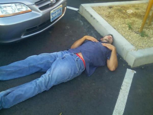 Actually, now that I think about it, this parking lot is pretty fucking comfortable...