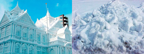 What we expected versus what we wound up with. This is exactly why Eskimos don't get stoned.