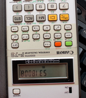 "Act now, and you can get a solar powered calculator with ""Porn Mode""!"