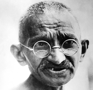 Sorry, Gandhi, you were just too ahead of your time.