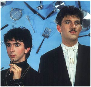 This is Soft Cell. In a just universe, they would have been shot, dragged through the streets, set on fire, and then resurrected for the specific purpose of giving them ass cancer.