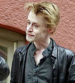 This is either Macauley Culkin or an opossum with a substance abuse issue.