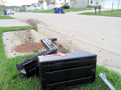 So, uh, if you lived in a Big Ten college town and had your mailbox flattened during the summer of 1991, sorry!