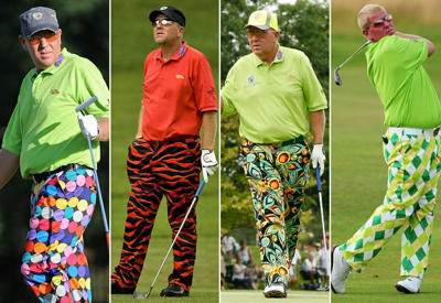 Tripping and golf: More common than you'd think.