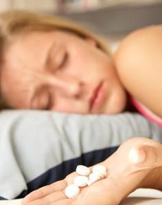 And then there are some real lightweights out there who fall asleep merely looking at pills.