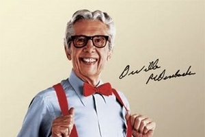 I bet even Orville Redenbacher's family doesn't have six pictures of him.