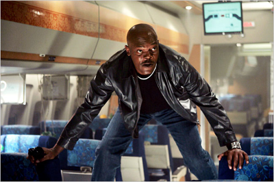 Yes, I turn into Samuel L. Jackson on a plane.