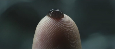 If you've seen Prometheus, the black ooze was comparable to our Cowboy Coffee. (Also, I never noticed the Weyland Industries logo in the robot's fingerprint. Fucking cool!)