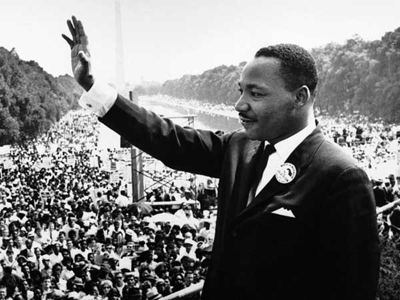 All joking aside, Martin Luther King Jr. was a great man who fought for the rights of <b>all</b> people. All human beings, not just Americans, owe him a debt of gratitude for opening both eyes and hearts. If more people acted on their convictions even a small fraction as much as he did, the world would be a much, much better place. Think of him today.