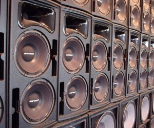 Look, at least let me turn down Speaker Bank A. You can keep the PA going full blast.