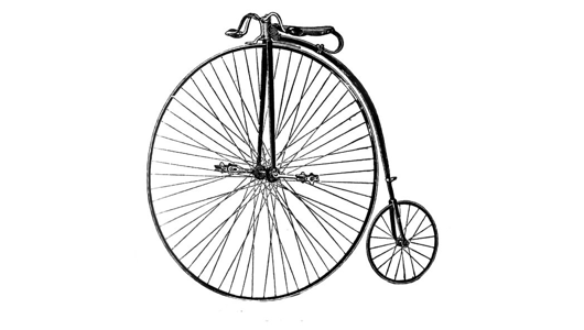 So, you don't like the old time bikes, huh?