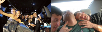 Drinking in the back seat of the car: Fantasy vs Reality