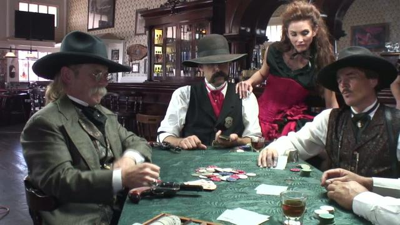 I was <b>not</b> prepared for a Wild West poker game, to tell you the truth