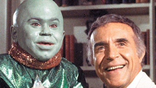 Ricardo Montalban and his favorite green butt-plug
