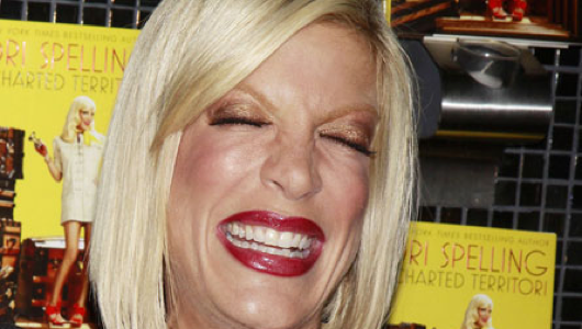 Welcome to Uncanny Valley, population: Tori Spelling