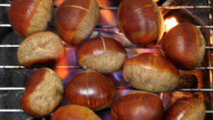 Warning: The following post contains both chestnuts and roasting