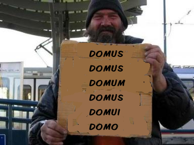 Now there's a hobo who knows his declensions!
