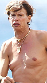 I know that's disturbing, but at least they don't let Steven Tyler in the pool any more.
