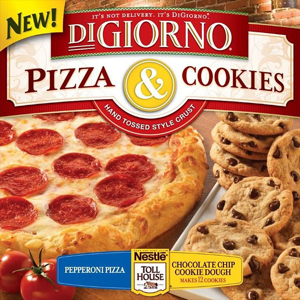 Pizza & Cookies: You will fill your fucking gob and like it!