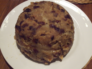 You think I'm joking about English cuisine? This is a dish called Spotted Dick, which sounds less like a dessert, and more like the end result of a weekend at Lindsay Lohan's house.