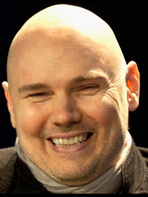 Billy Corgan, professional queef and one peanut-looking motherfucker.