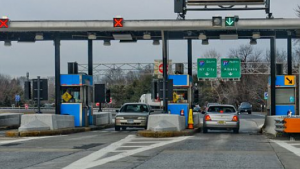 Given the boring nature of the job, I bet the toll booth attendant was higher than we were.