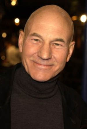 Patrick Stewart: If a peanut and Steve Jobs had sex (and I'm pretty sure that happened), this would be the offspring.