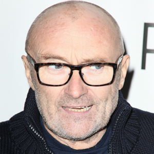 "Phil Collins: Once sang, ""It's no fun, being an illegal alien"" because, you know, Phil Collins can relate! Also he looks like a peanut imitating Junior Soprano."