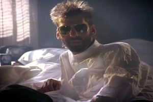 Kenny Loggins in bed. Not pictured: Anyone else.