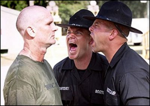 Wait! Wait! There are lots of other reasons to join the Army. Uhhh... Do you like getting yelled at? We've got a great getting yelled at program!