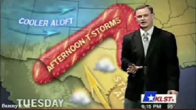 Some people made an entire career out of being sarcastic with the weather.