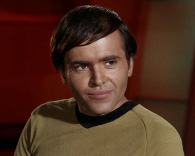 Chekov looks like a retarded, Russian version of Davy Jones, doesn't he?