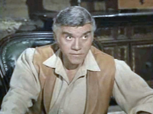 Lorne Greene looks like Sean Connery and Ricardo Montelban had a love child, doesn't he?