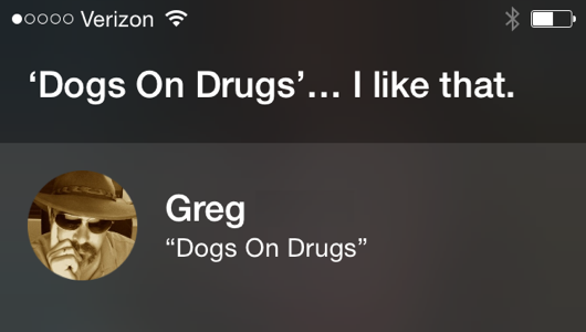 You're one of the few, Siri.