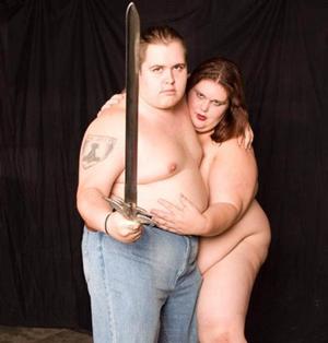 Pictured: Sexual Harassment Samurai