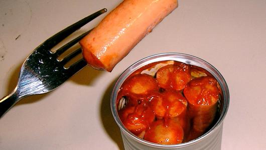 Pig dicks in vomit sauce