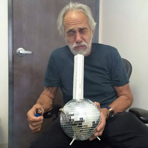 Blowing a bong made of mirrors, well that's just far fucking out, man!
